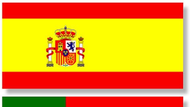 combo / Flaggen Spanien und Portugal