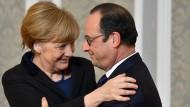 Merkel: Einigung ist Hoffnungsschimmer