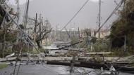 Schwere Sturmschäden auf Puerto Rico