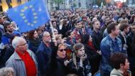 Pro-EU-Demo in Ungarn