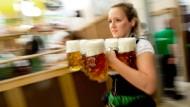 Münchner Oktoberfest läuft auf Hochtouren
