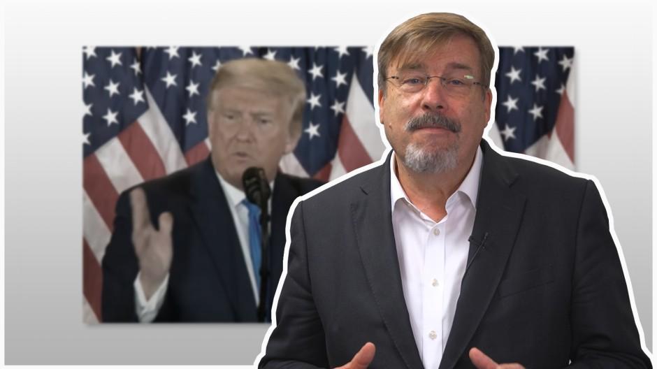 """""""Was Trump macht, ist unerhört"""""""