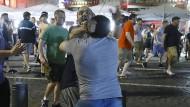 Gewaltbereite Englandfans randalieren in Marseille