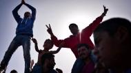 Flüchtlinge auf Chios in Angst vor Abschiebung