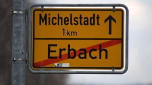 Bevölkerung lehnt Städtefusion im Odenwald ab