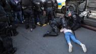 Zusammenstöße in Belfast