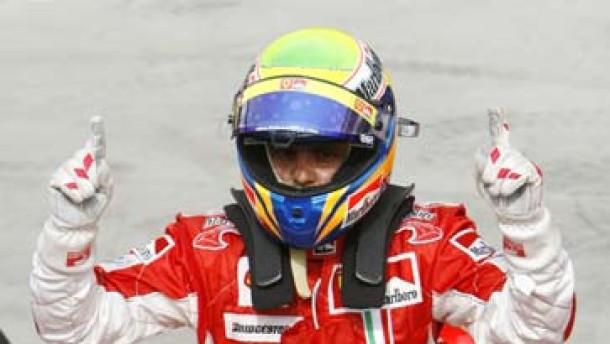 Massa gewinnt Pole Position in der Wüste