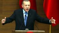 """""""Die Türkei steht kurz vor der Eroberung Afrins"""""""
