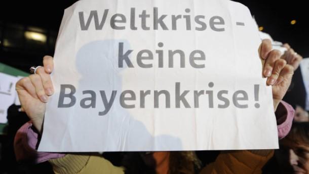Schwere Führungskrise in der Bayern LB