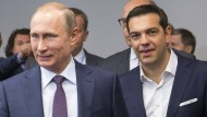 Tsipras in Russland