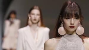 Gucci auf der Mailänder Fashion Week