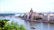 Donau bei Budapest