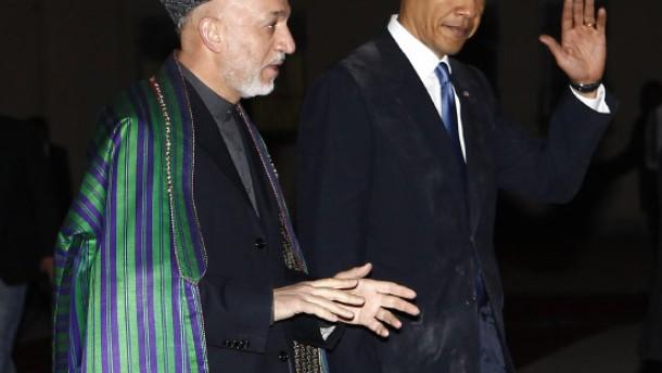 Obama erhöht den Druck auf Karzai