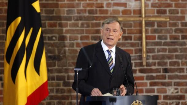 """Köhlers """"Kompass für die deutsche Politik"""""""