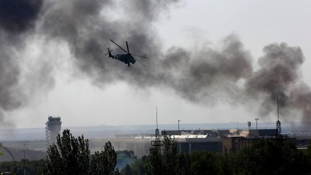 Tote bei Gefechten in Donezk