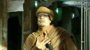 Druck auf Gaddafi