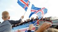 Island feiert seine EM-Helden