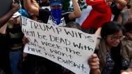 Prügeleien wegen Trump in Kalifornien