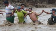 Peru kämpft weiterhin mit Unwettern