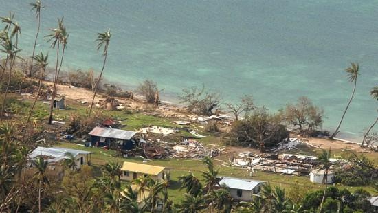 Große Schäden nach Zyklon in Fidschi