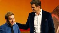 Markus Lanz im Gespräch mit Samuel Koch