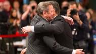 Altkanzler Schröder stärkt Gabriel den Rücken