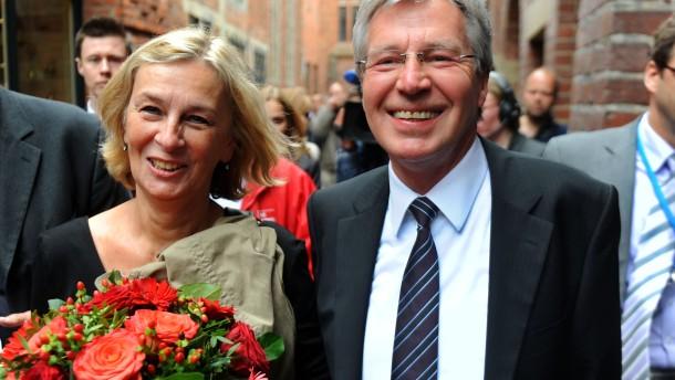 Böhrnsen bestätigt - Grüne vor CDU
