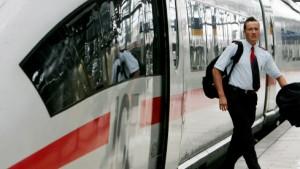 Massive Warnstreiks bei der Bahn