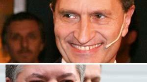 Beck souverän - Oettinger bestätigt - Böhmer vorn
