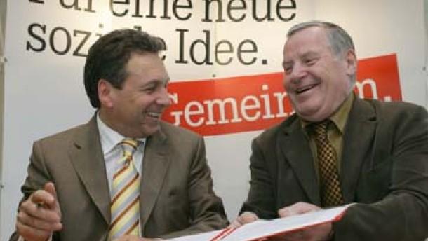 Linke und WASG schließen Vereinbarung zur Parteifusion