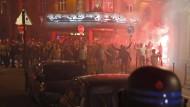Englische Fans randalieren in Lille