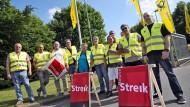 Unbefristete Streiks bei der Post