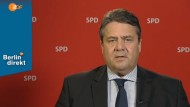 Gabriel zofft sich im ZDF mit Interviewerin Schausten