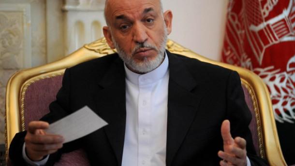 Karzai weist Bericht über CIA-Bezahlung zurück