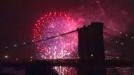 Amerikaner feiern ihre Unabhängigkeit
