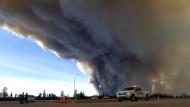 Wetterumschwung hilft bei Kampf gegen Waldbrände in Kanada