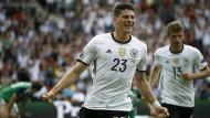 Deutschland siegt mit 1:0 gegen Nordirland
