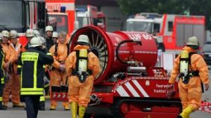 Rund 50 Verletzte bei Chlorgasunfall in Frankfurt