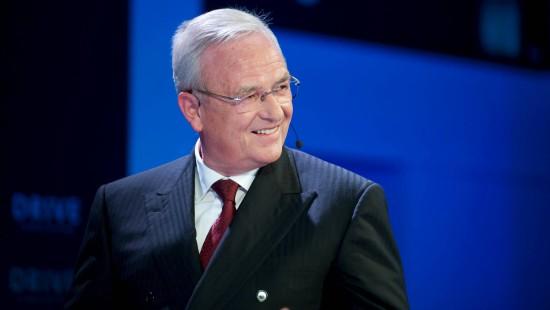 Martin Winterkorn mit erstem Auftritt nach Piëch-Rücktritt