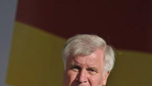 Seehofer macht Steuersenkung zur Bedingung für Koalition