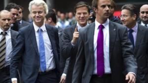 Bedenken gegen Regierung unter Duldung Wilders
