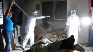 Leichen in verlassenem Krematorium entdeckt