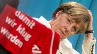 Merkel vergleicht Facebook mit Waschmaschine
