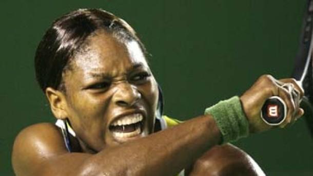 Serena Williams ist ihre eigene Entwicklungshelferin