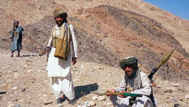 Schwere Gefechte mit den Taliban