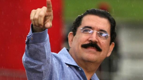 Putsch gegen Präsident Zelaya