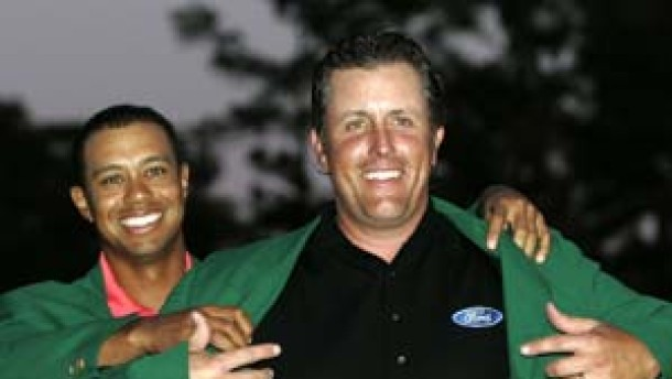 Mickelson spaziert zum Masters-Sieg in Augusta