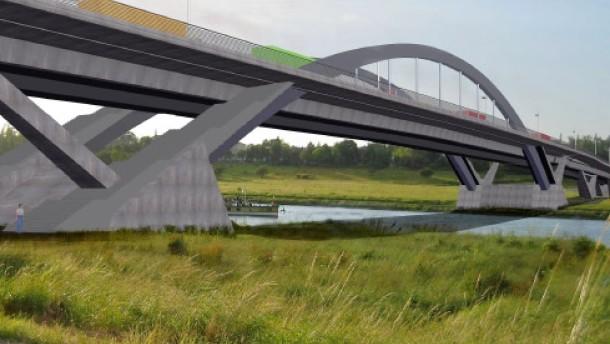 Rascher Baubeginn der Waldschlösschenbrücke