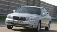 Selbstbewußtsein: Mit dem Hyundai XG 30 will der koreanische Hersteller in der oberen Mittelklasse mitmischen