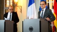 Keine Einigung bei Außenministertreffen